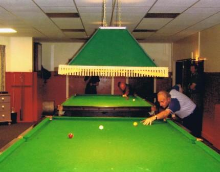 Memorial Hall Snooker Room